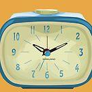 Blue Clock by tashatringale