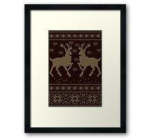 Deers Framed Print