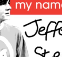 Jefferson Steelflex + Photo - Drake and Josh Inspired Sticker