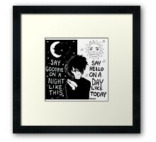 A Night Like This Framed Print