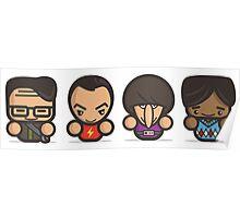 Mr Big Bang Theory Poster
