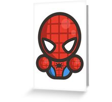 Mr Spider Greeting Card