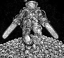 Texas Chainsaw Astronaut: New Moon by nickv47