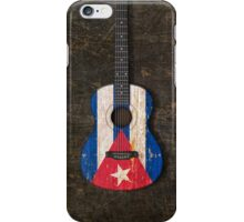 Aged and Worn Cuban Acoustic Guitar iPhone Case/Skin