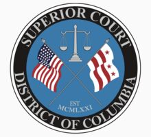 Superior Court District Of Columbia Seal by VeteranGraphics