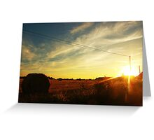 a field in France Greeting Card