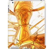 Honey Abstract iPad Case/Skin