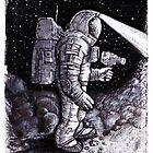 Astronaut Bruce Baxter by Bob Bello