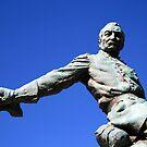 Borglum's General Philip Sheridan -- A Partial View by Cora Wandel
