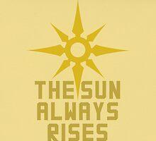 The Sun Always Rises by kasaiki