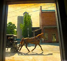 Life in St Jacobs Ontario by MarianBendeth