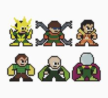 8-bit Sinister Six Spider-Man Sprite by groundhog7s