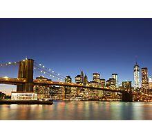 Brooklyn Bridge Photographic Print