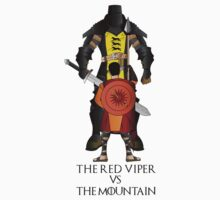 The mountain vs the Red Viper by icedtees