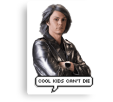 Quicksilver - Cool kids can't die Canvas Print