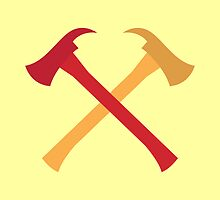 Fireman axes crossed by jazzydevil
