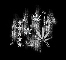 Cannabis Blätter by harietteh