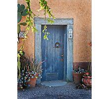 Elysian Grove Market Door Photographic Print