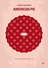 No262 My AMERICAN PIE minimal movie poster by Chungkong