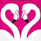 No142 My PINK FLAMINGOS minimal movie poster by Chungkong