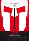 No001 My 300 minimal movie poster by Chungkong