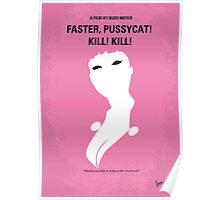No141 My Faster, Pussycat! Kill! Kill! minimal movie poster Poster