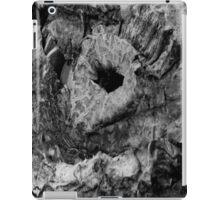 Super Rotten Pumpkin Black and White Close Up iPad Case/Skin