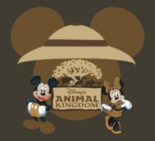 Mickey and Minnie Animal Kingdom vacation by sweetsisters