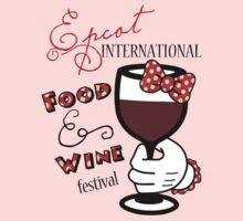 Minnie hand Epcot Food and Wine Festival by sweetsisters