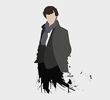 Minimal TV - Sherlock by Colourus