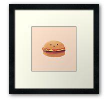 Burger Buddy Framed Print