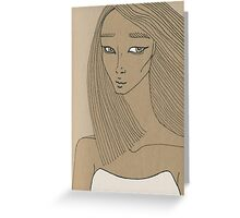 The blow of feelings Greeting Card