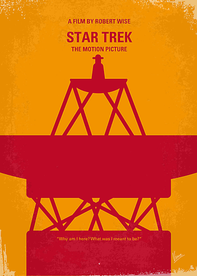 No081 My Star Trek - 1 minimal movie poster by Chungkong