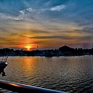 Sunset in North Myrtle Beach by imagetj