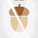 No041 My Ice Age minimal movie poster by Chungkong