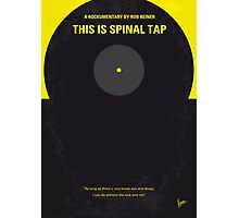 No143 My This Spinal Tap minimal movie poster Photographic Print