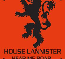 House Lannister by EAMS