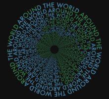 Around the World - Blue, Green by Amanda Rekdal
