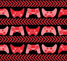 Love for Gaming - Red by Amanda Rekdal
