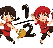 Ranma in Hot or Cold Water by Joichichan