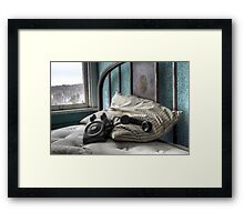 Connection, Lost, NY Framed Print