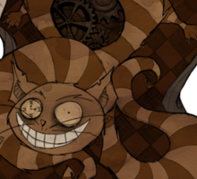 Clockwork Wonderland - Cheshire Cat Sticker
