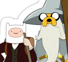 Going on an adventure time Sticker
