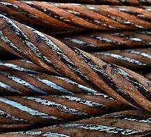 Metal Rusty Rope by bluesapphire
