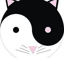 Kitty Yin Yang by mlswig