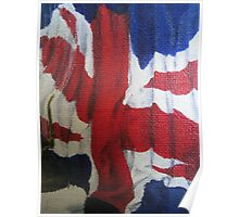 Flag by Heather Holland Poster