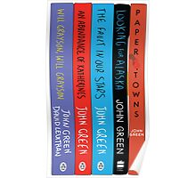 John Green Books Poster
