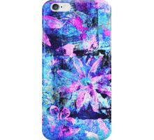 Flower in Black Square 11- Digitally Altered Print by Heather Holland iPhone Case/Skin