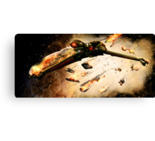 A Grissom Death Canvas Print