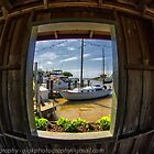 Sailboat in Window 4 by GJKImages